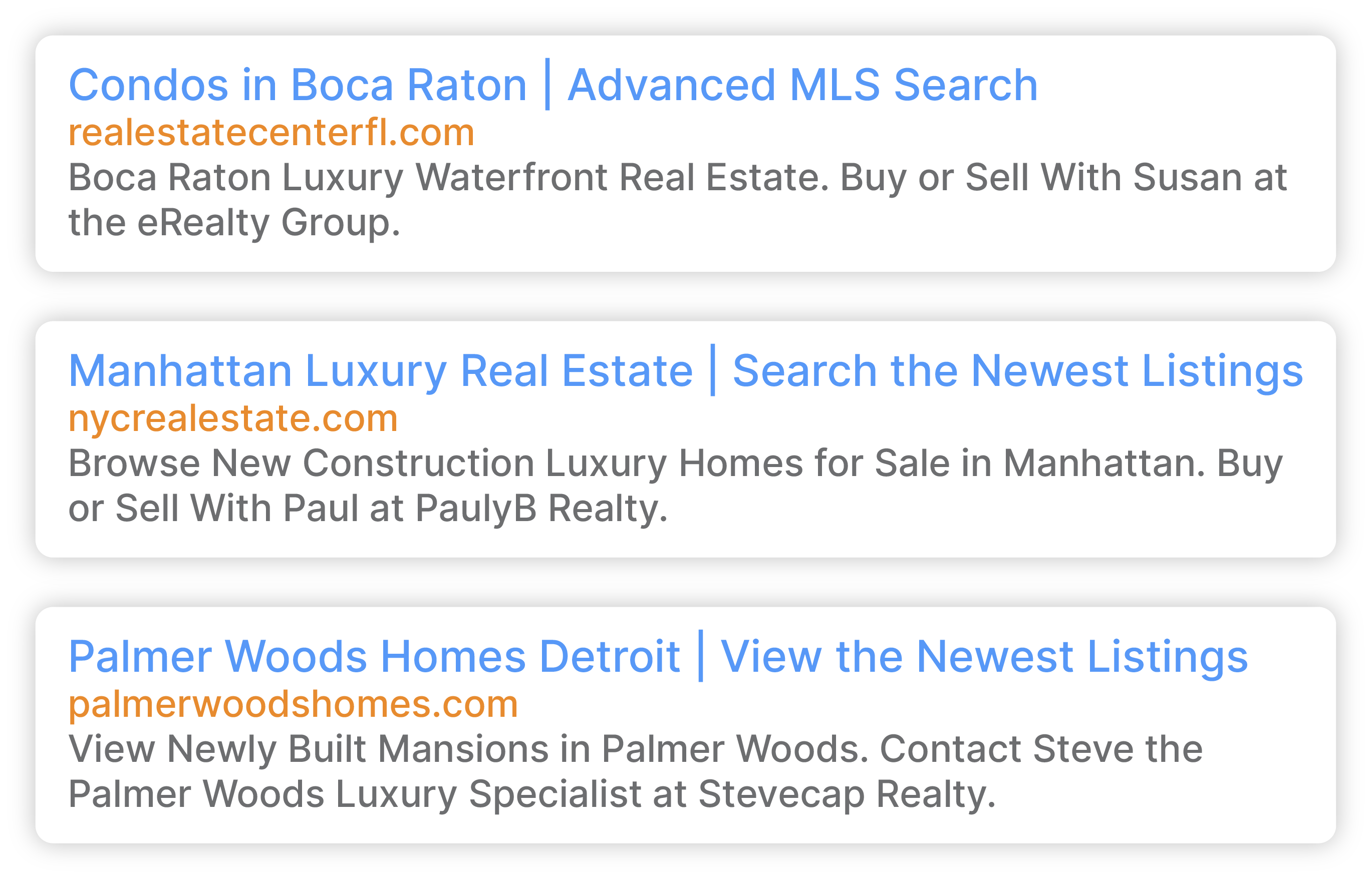 """Google search for """"Condos in Boca Raton 